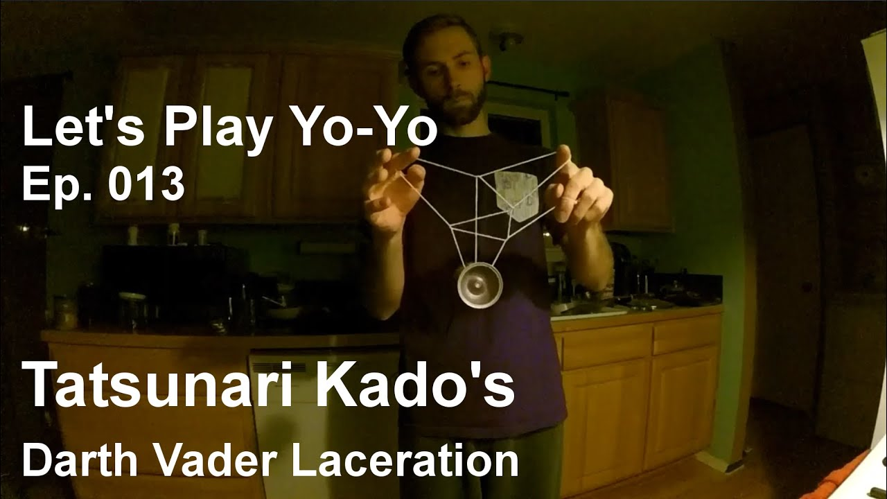 Tatsunari Kado's Darth Vader Laceration – Let's Play Yo-Yo Ep. 013